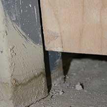 Wood Excessive Undercut