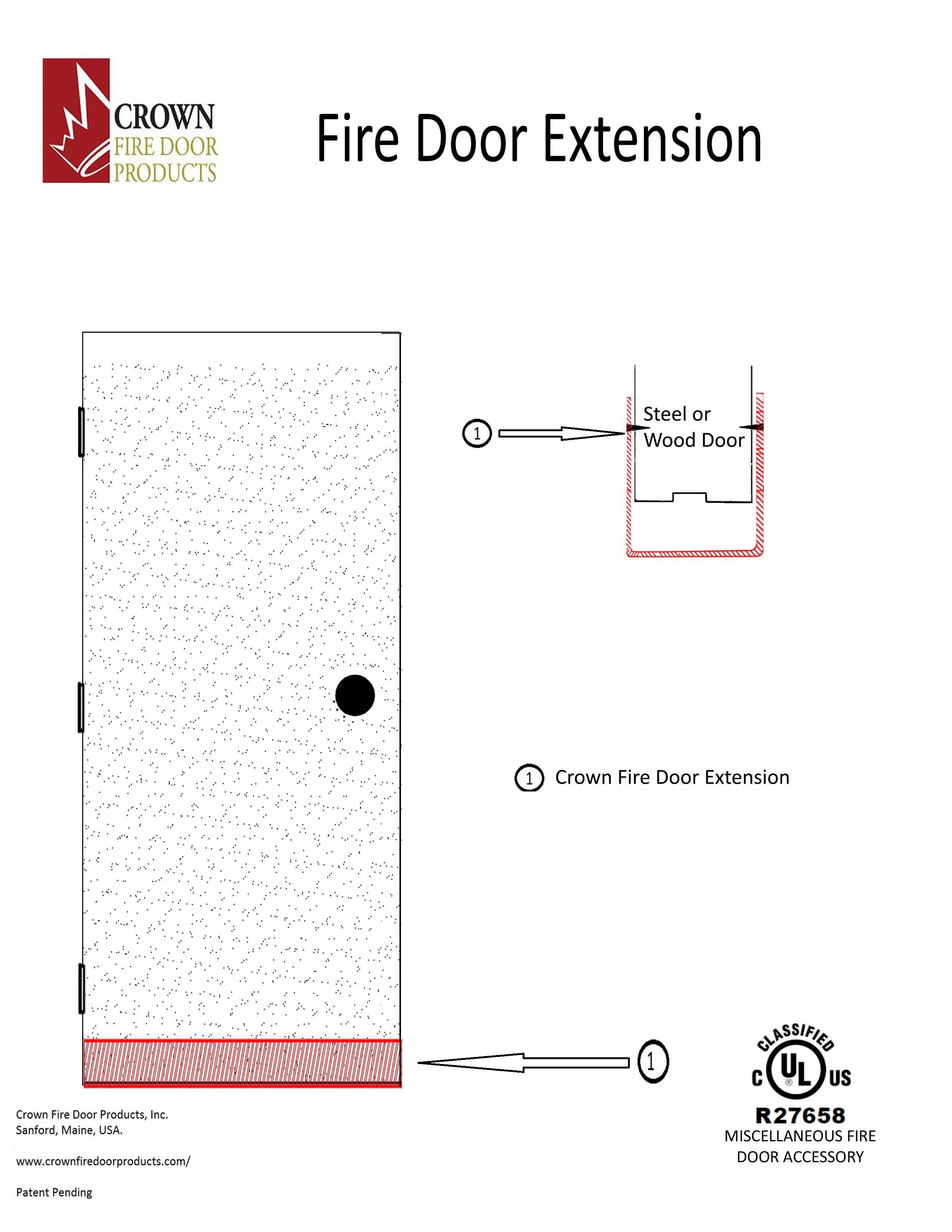 fire-door-extension  sc 1 st  Crown Fire Door Products & Fire Door Extension - Crown Fire Door Products